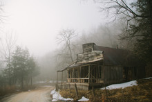 Abandoned General Store On Cou...