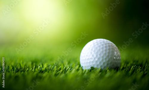 Fotografija golf ball on fairway
