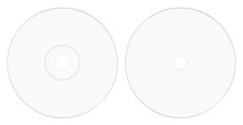 Disc Label Side White