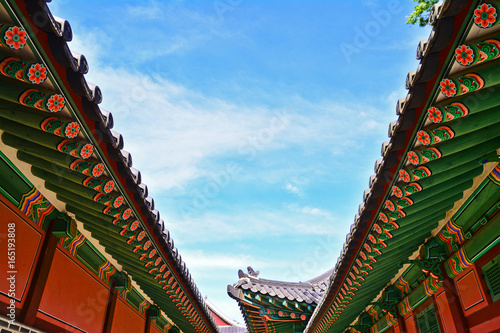 Beauty of Changdeok Palace in Seoul Poster