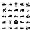 Automobile Glyph Vector Icons 3
