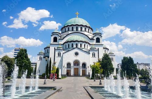 Photo Church of Saint Sava in Belgrade, Serbia