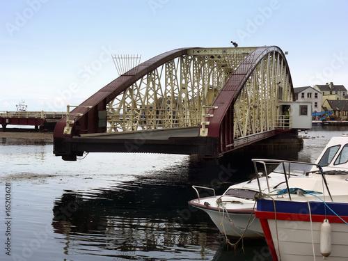Photo  Drehbrücke in Ramsay auf der Isle of Man