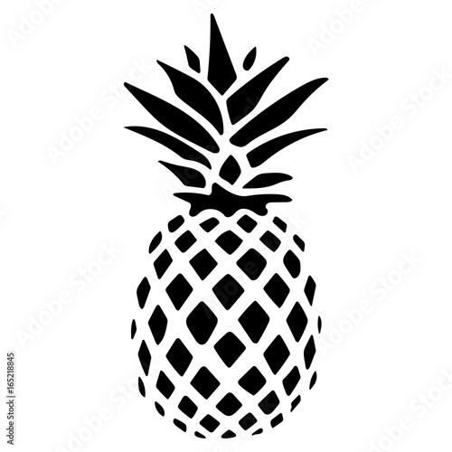 Fotografiet  ananas logo