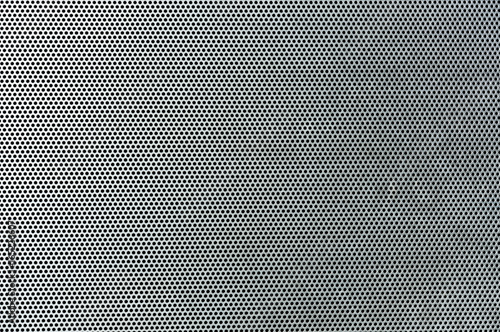 Gray metal background, round perforated metal texture Tapéta, Fotótapéta