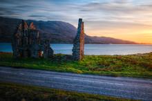 Calda House, Loch Assynt, Highlands, Scotland