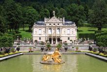Linderhof Palace In Bavaria In...
