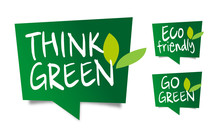 Think Green, Eco-friendly And ...