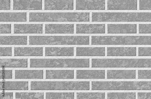 Naklejki na meble Szary mur z cegły
