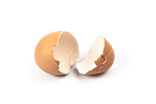 Broken Egg Shell To Made A Food