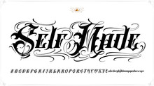Self Made Tattoo Lettering