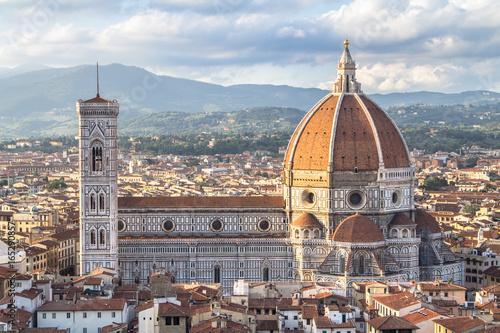 Fotografie, Obraz  View of the Basilica di Santa Maria del Fiore in Florence, Tuscany, Italy