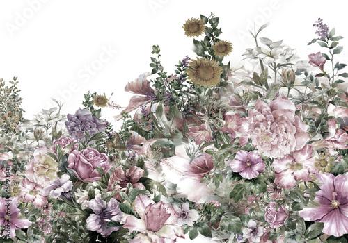 malowane-liscie-i-kwiaty-laka-retro-vintage