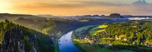 Saxon Switzerland Panorama Fro...