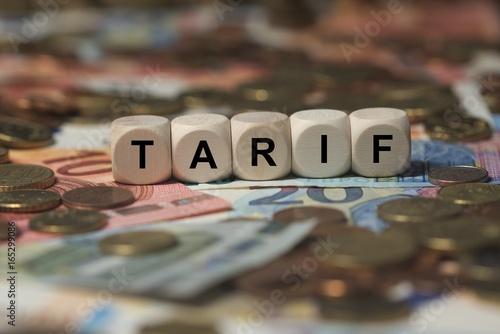 Fotografía TARIF - Bilder mit Wörtern aus dem Bereich Krankenversicherung, Wort, Bild, Illu