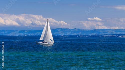 Boot Auf Dem Bodensee Kaufen Sie Dieses Foto Und Finden Sie