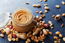Peanut Butter Jar And Heap Of ...