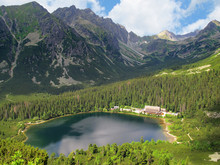 Mengusovska Valley And Poprad Tarn, High Tatras (Slovakia)