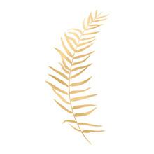 Golden Vector Leaf