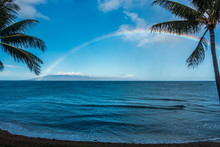 Rainbow Over The Water 2