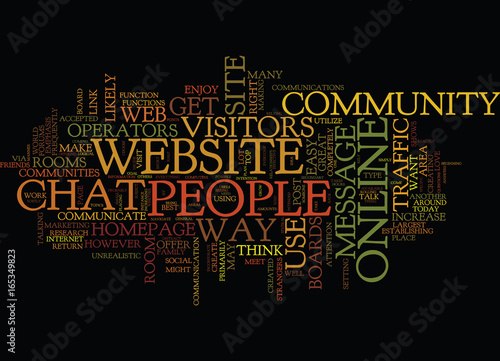 ESTABLISH YOUR OWN ONLINE COMMUNITY TO INCREASE WEBSITE