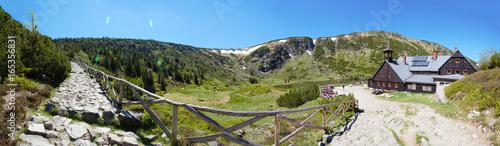 Fototapeta Schronisko Samotnia - Karkonosze - Sudety - Góry obraz