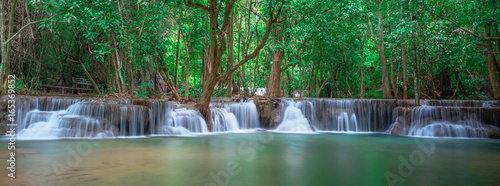 Wall Murals Waterfalls Waterfall panoramic landscape in Thailand