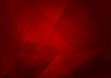 Abstract Red Background With Shape. Vector Illustration Design