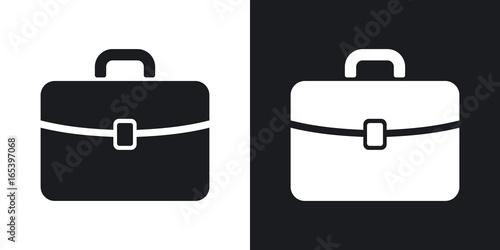 Photo Vector briefcase icon