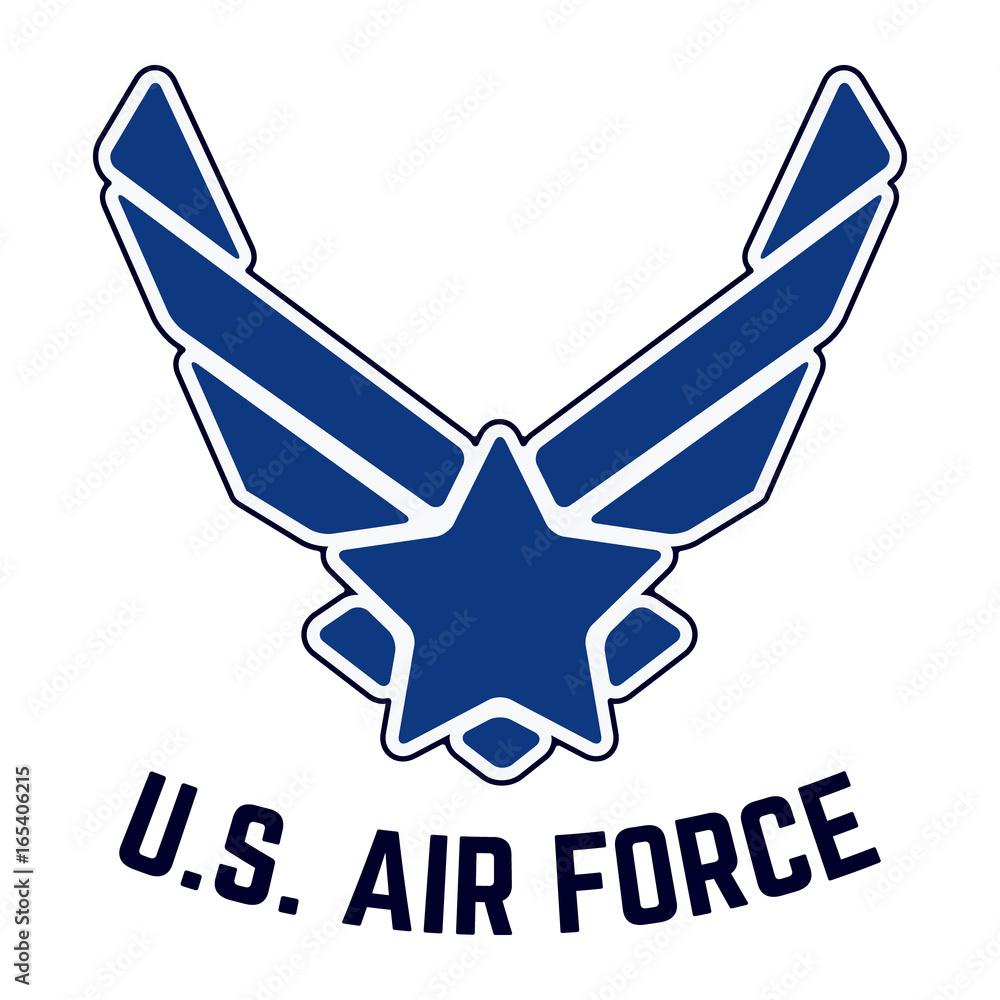 Fototapety, obrazy: U.S. Air Force vintage t-shirt stamp