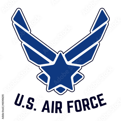 Photo  U.S. Air Force vintage t-shirt stamp