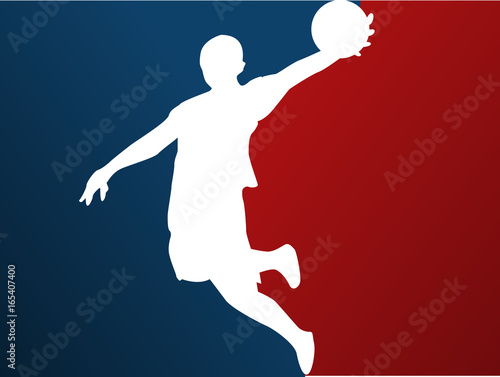 Basketball player Fototapet