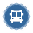 App Icon blau Autobus