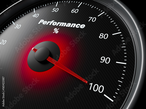 Fotografía  Performance speedometer