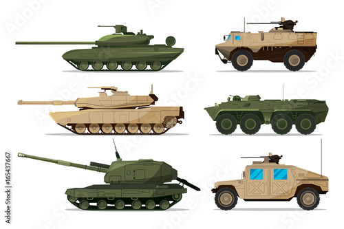 Military vehicle Wallpaper Mural