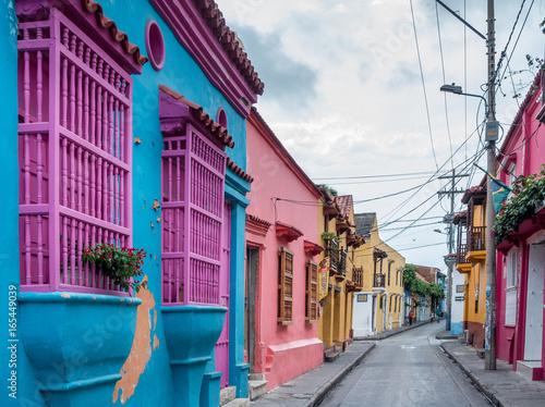 Poster South America Country Altstadt von Cartagena de Indias, Kolumbien