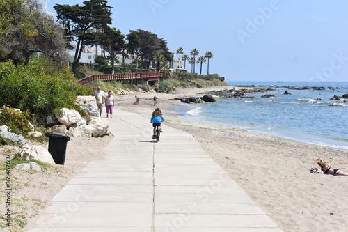 Photo Road near the beach
