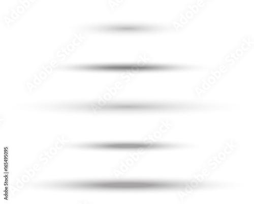 Obraz oval soft shadow - fototapety do salonu