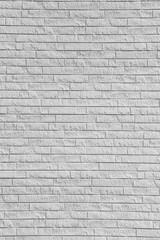 White brick stone wall.