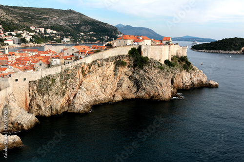 Fotografie, Tablou  the old town in Dubrovnik, King's landing