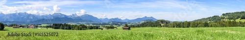 Fotografie, Obraz  Naturlandschaft am bayrischen Alpenrand