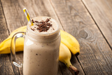 Banana Chocolate Smoothie And ...