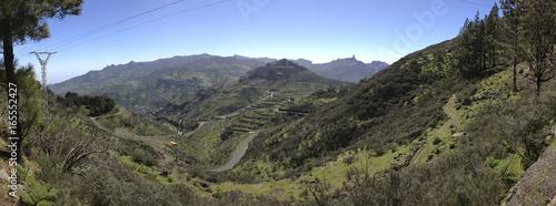 Tuinposter Canarische Eilanden Landscape of Gran Canaria, Canary Islands