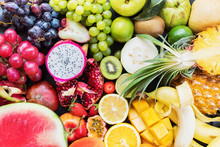 Tropical Fruits Raw Eating Con...