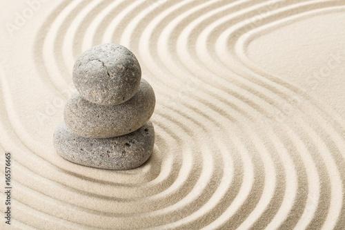Foto op Plexiglas Stenen in het Zand Spa.