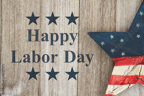 Fotografie, Obraz  Happy Labor Day Greeting