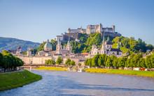 Beautiful View Of Salzburg,  F...