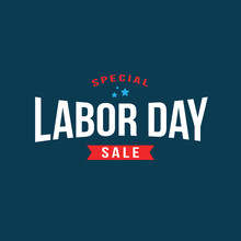 Special Labor Day Sale Text, V...