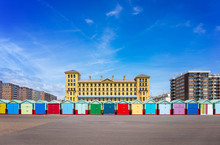 Beach Houses In Brighton, Engl...