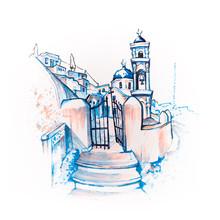 Imerovigli Anastasi Church Of ...